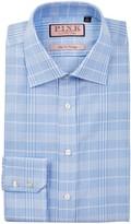 Thomas Pink Turner Slim Fit Plaid Dress Shirt