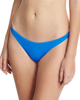 Milly St. Lucia Italian Solid Swim Bottom, Blue