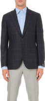 Lardini Slim-fit brushed wool jacket
