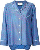 Muveil polka dot blouse - women - Cotton/Cupro - 36