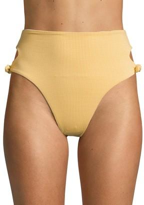 L-Space Textured Bikini Bottom