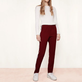 Maje Straight trousers with two-tone bands