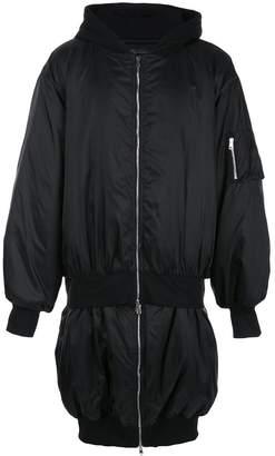Barbara Bologna oversized bomber jacket