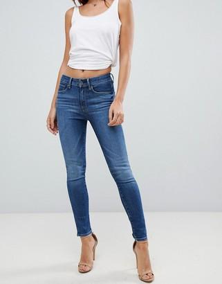 G Star G-Star 3301 Ultra high rise skinny jeans-Blue