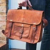 Vida Vida Vintage Style Leather Satchel