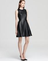 Leather Dress - Belle Sleeveless