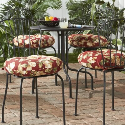 Charlton Home Indoor Outdoor Seat Cushion Size 18 H X 18 D Shopstyle Outdoor Furniture