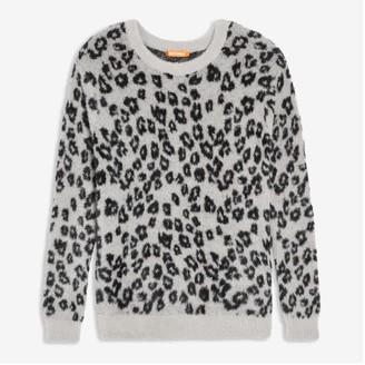 Joe Fresh Women's Crew Neck Sweater, Black (Size XL)