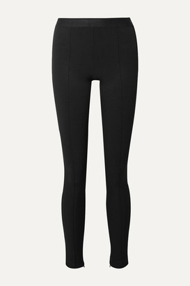 Helmut Lang Stretch-jersey Leggings - Black