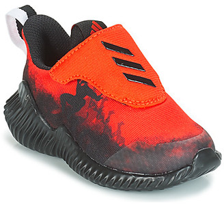 adidas FORTARUN SPIDER-MAN boys's Sports Trainers in Red