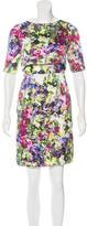 Erdem Floral Overlay Dress