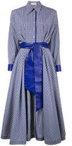 Vika Gazinskaya gingham belted shirt dress