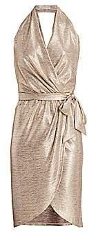 Ramy Brook Women's Maura Metallic Wrap Dress