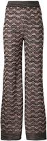 M Missoni metallic wide-leg trousers
