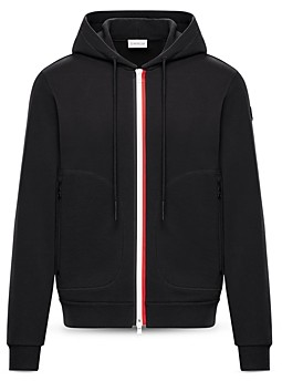 Moncler French Terry Zip Up Cardigan