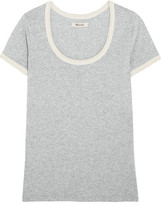 Madewell Grayson Cotton-jersey T-shirt - x small