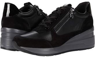 Geox Zosma 17 (Black) Women's Shoes