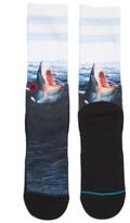 Stance Men's Landlord Shark Socks