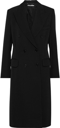 Stella McCartney Nathaly Double-breasted Wool-gabardine Coat