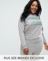 Daisy Street Plus Mermaid Academy Sweatshirt