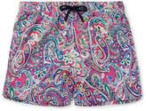 Etro Ponza Mid-Length Printed Shell Swim-Shorts