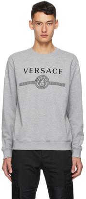 Versace Grey Medusa Sweatshirt