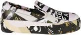 Kenzo Printed Sole Platform Slip-On Sneakers