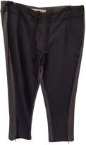 Marni Navy Wool Trousers