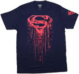JCPenney Novelty T-Shirts Superman Shield Drip Tee