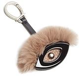 Etienne Aigner Evil Eye Fur Bag Charm