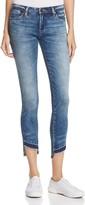 Blank NYC Blanknyc Slim & Cropped Step-Hem Jeans in Medium Blue