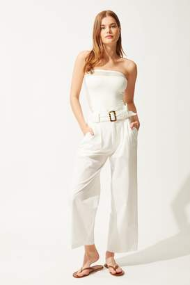 Solid & Striped Solid Striped High Waisted Pants