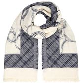 Max Mara Multi-Pattern Cotton Scarf