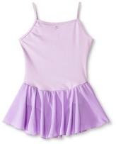 Danz N Motion by Danshuz Danz N Motion® by Danshuz® Girls' Keyhole Back Activewear Dress - Lavender XS(2-4)