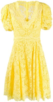 Ermanno Scervino flared lace dress