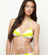 Line Up Tiki Tri Bikini Top