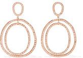 Ileana Makri Again Double 18-karat Rose Gold Diamond Earrings - one size