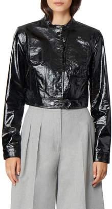 Habitual Remy Moto Patent Leather Jacket