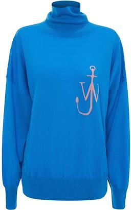 J.W.Anderson jacquard Anchor logo merino jumper
