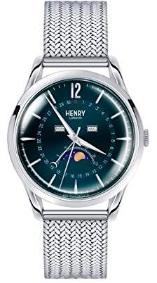 Henry London Unisex-Adult Stainless Steel Watch Strap HL39-LM-0085