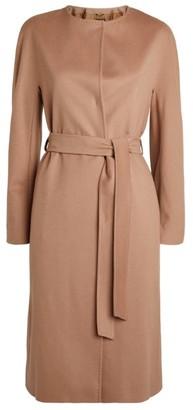 Harrods Cashmere-Wool Belted Coat