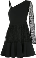 David Koma asymmetric flared dress