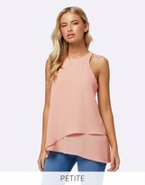 Forever New Petite Double Layer Tank Top
