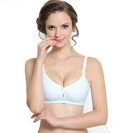 Befamous Seamless Push up Nursing Women's Wireless Underwear Maternity Sleep Bra