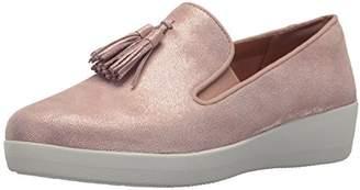 FitFlop Women's Tassel Superskate Shimmer Loafer