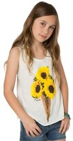 O'Neill Girl's Sunflower Cone Graphic Tank