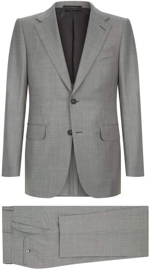 Dunhill Broken Check Two-Piece Suit