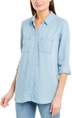 Splendid Fold Back Tunic Shirt