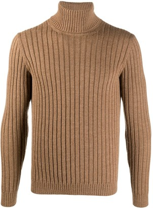 Gucci Ribbed Roll-Neck Jumper
