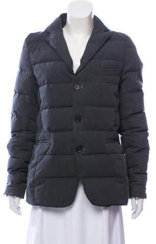 2eb1daeea Notched-Lapel Puffer Jacket